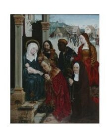 The Adoration of the Magi with St Margaret and a Nun thumbnail 1