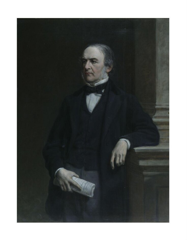The Right Honourable William Ewart Gladstone, MP (1809-1898) top image