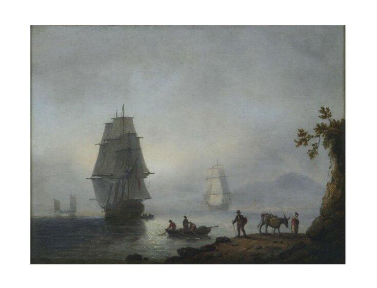 Sea Piece: Ships under Sail top image