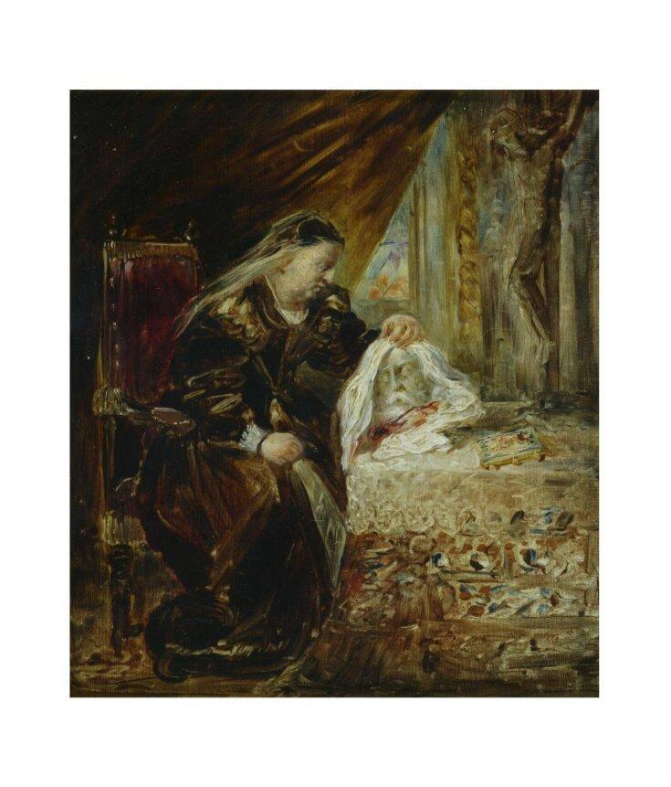 Catherine de Médicis with the head of Coligny top image