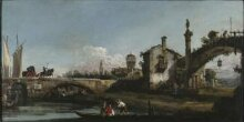 Capriccio with Two Bridges and Figures thumbnail 1