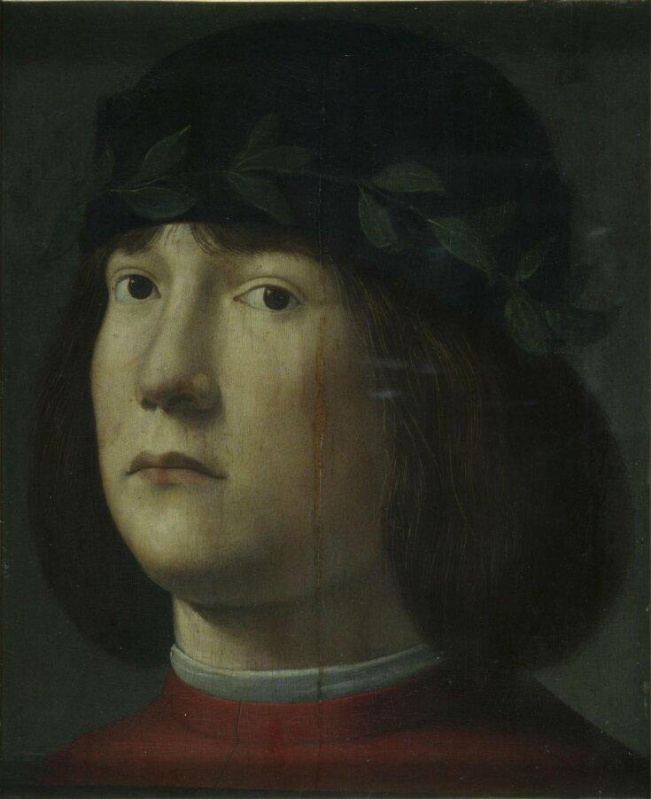 Head of Laurel-Crowned Poet (?) top image
