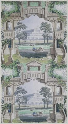 Perspective Representation of the Crystal Palace and Serpentine thumbnail 1