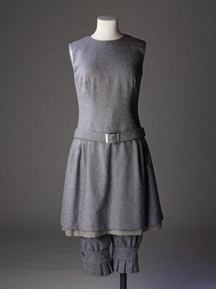 Ensemble (Dress, Knickerbockers, & Hat) top image