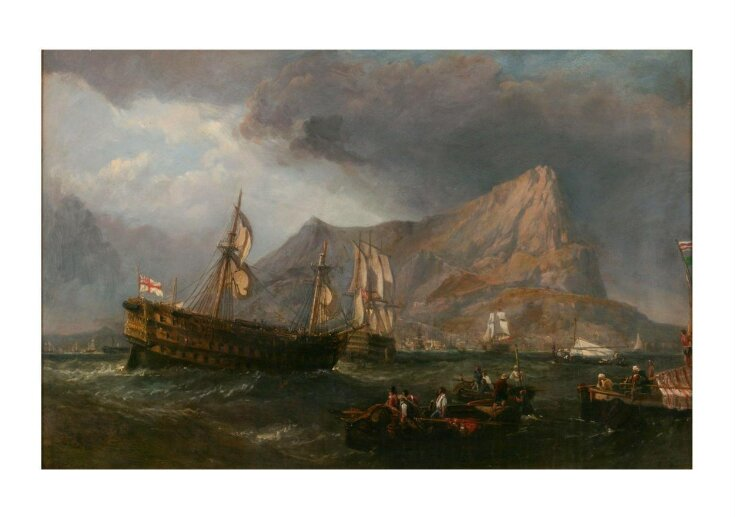 HMS 'Victory' Towed into Gibraltar top image
