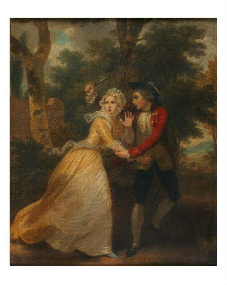 The Elopement (Richardson, 'Clarissa', Book I, letter 94) top image