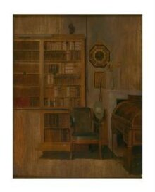 A Book Case (sketch for 'The Letter of Introduction') thumbnail 1