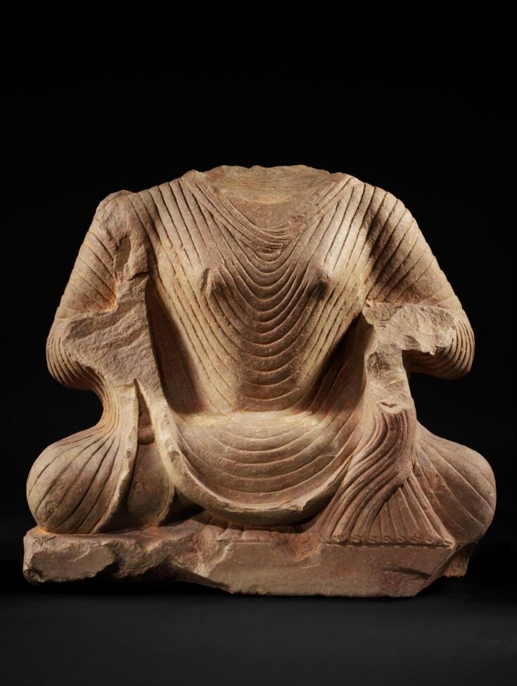 Seated Buddha top image