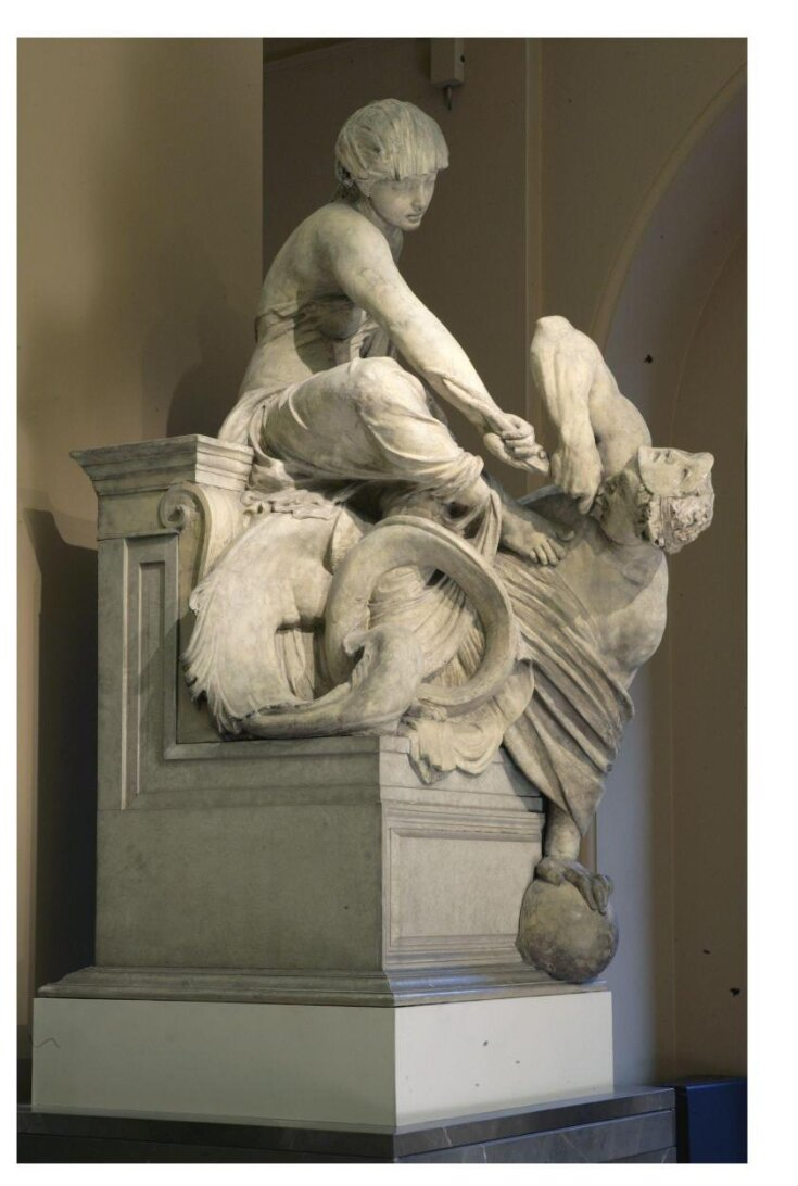 Model for Wellington Monument: Truth and Falsehood top image