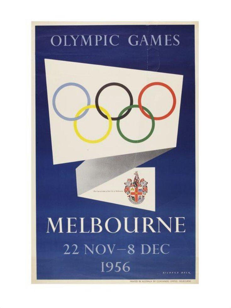 Olympic Games Melbourne 22 Nov - 8 Dec 1956 top image