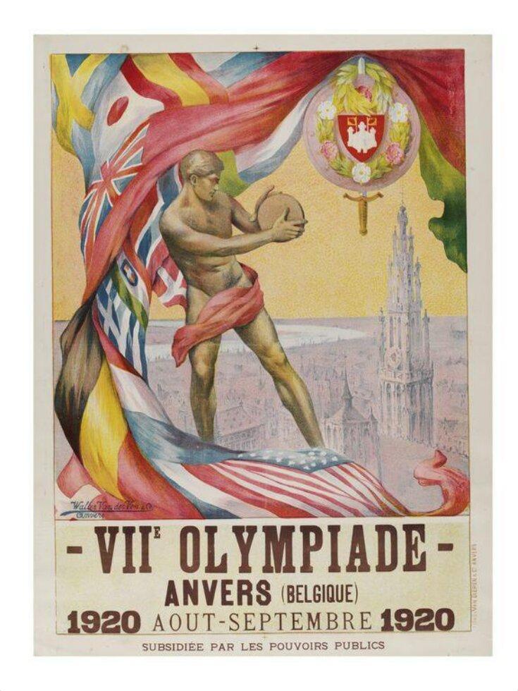 VIIe Olympiade - Anvers top image