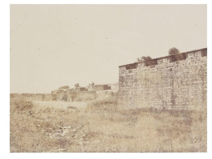 Tanjore Fort, The Wall and Ditch top image