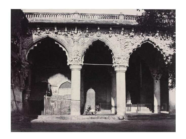 Facade on the W. Side of the Nayakar Durbar Hill top image