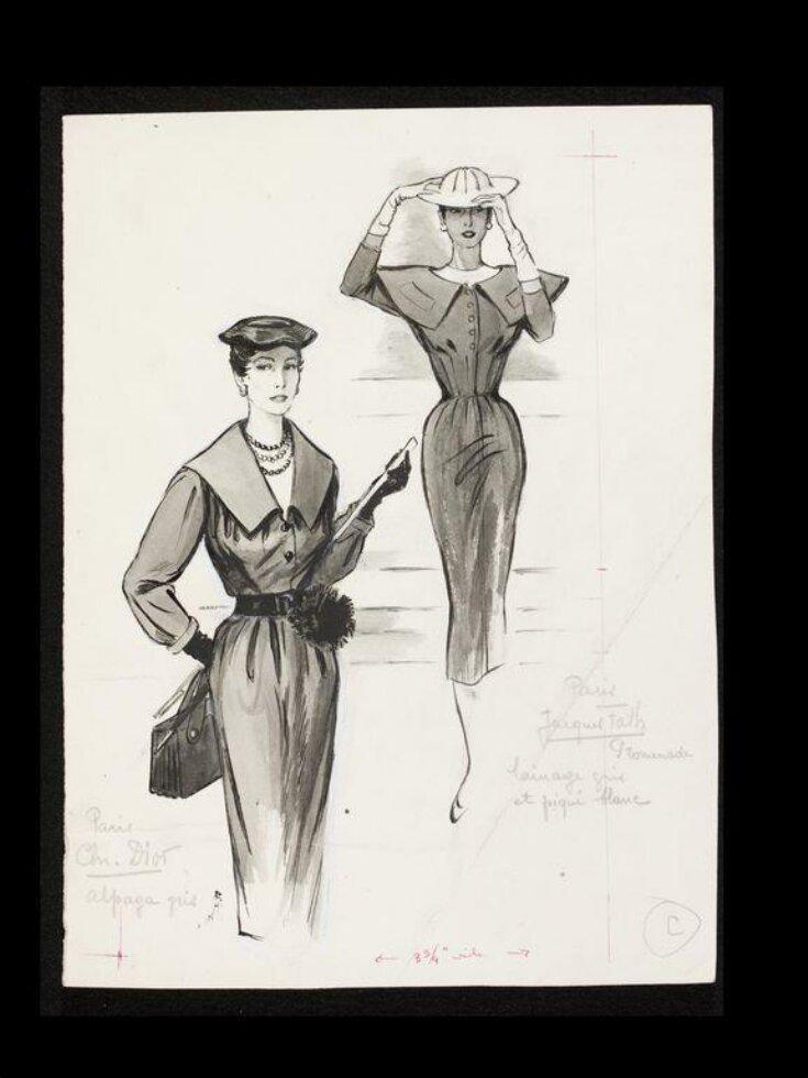 Fashion Drawing top image