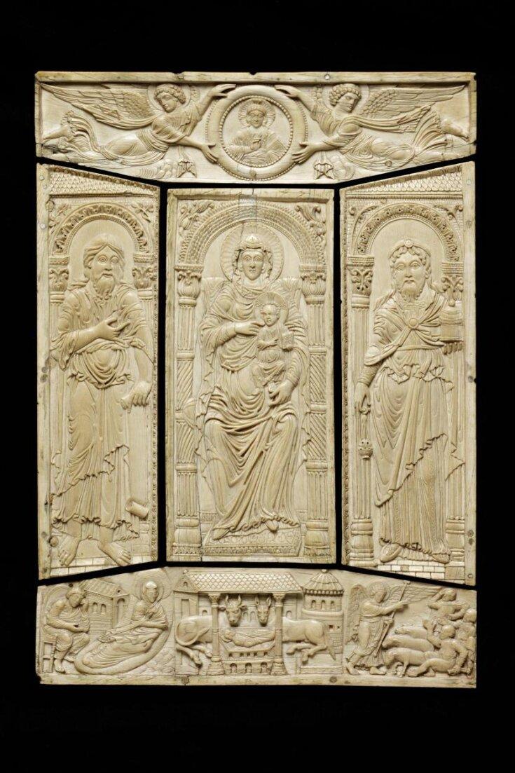 Front cover of the Lorsch Gospels top image