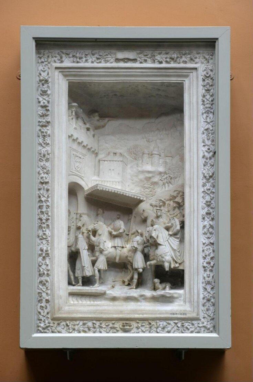 Gaston de Foix entering Milan through the Porta Romana top image