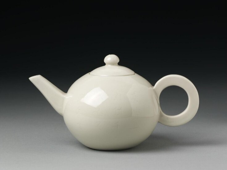 Teapot and Lid top image