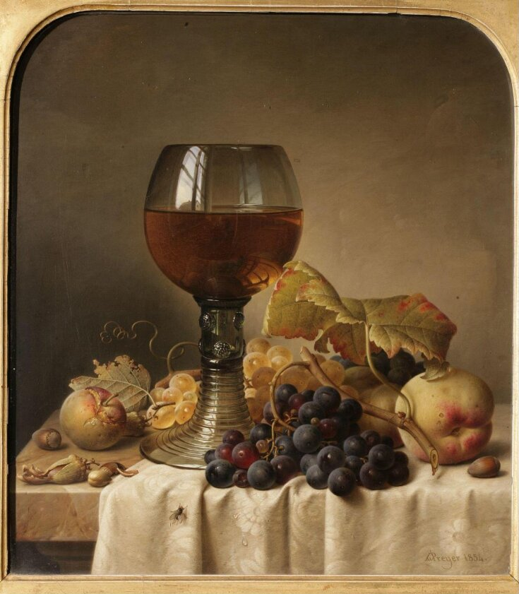 Still Life: Fruit and Goblet top image