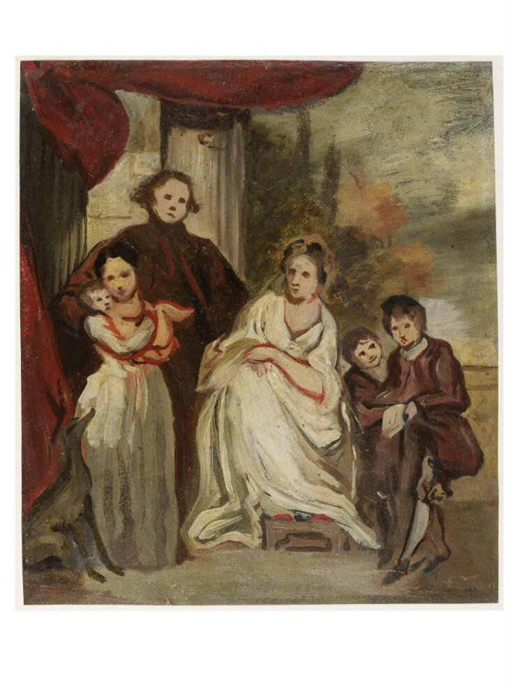A Gentleman, His Wife and Children top image
