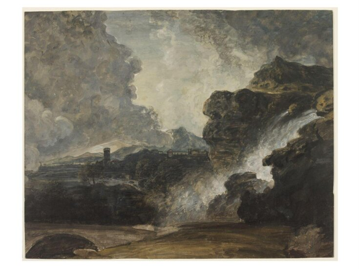 Study for Landscape, Destruction of Niobe's Children top image