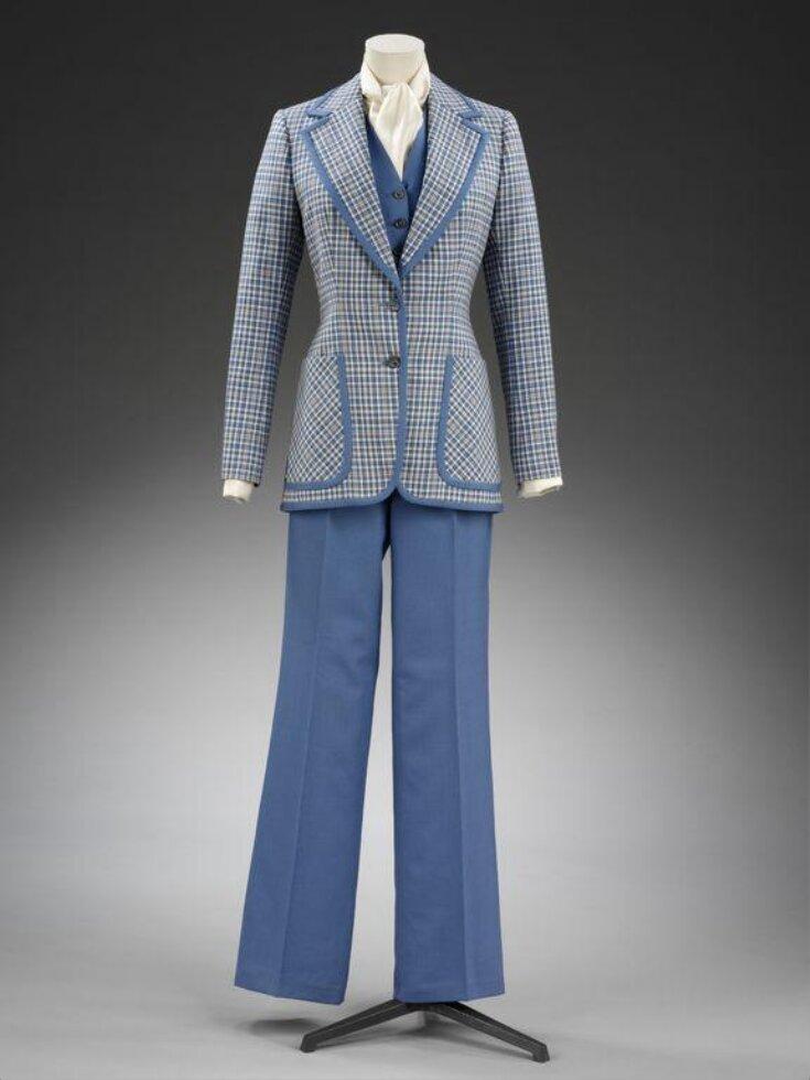 Trouser Suit top image