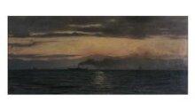 Steamer on Lake Geneva: Evening Effect thumbnail 1