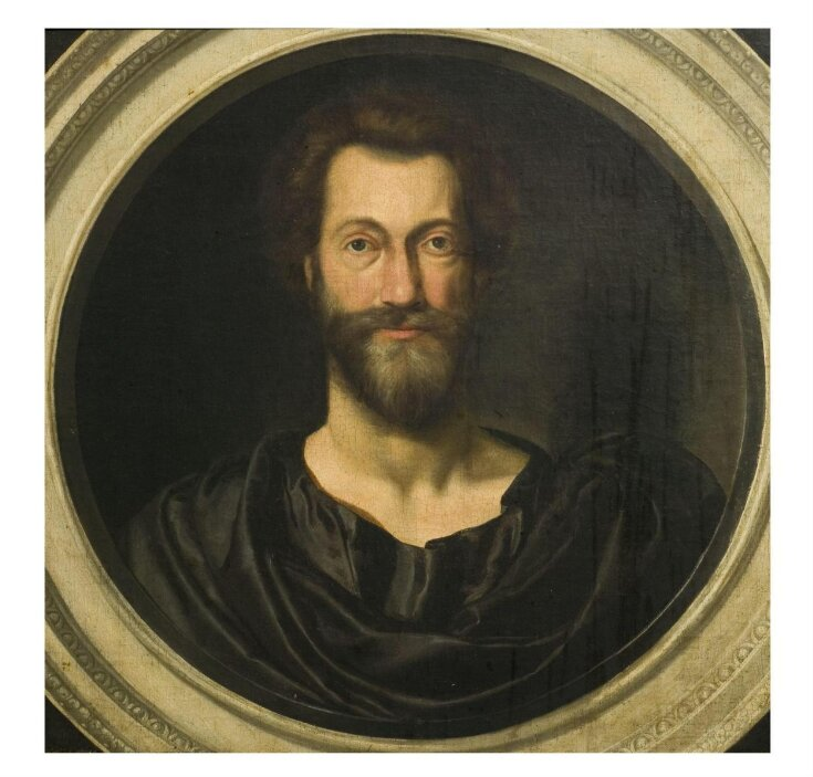 Portrait of John Donne (1573-1631) at the age of 49 top image