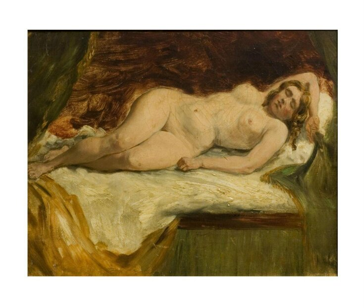Study of a Nude Female Sleeping top image