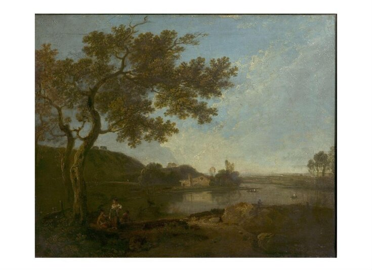 Italian river scene with figures top image
