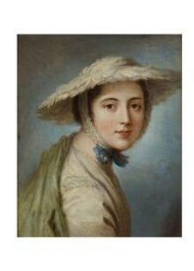 Head of a Girl Wearing a White Hat thumbnail 1