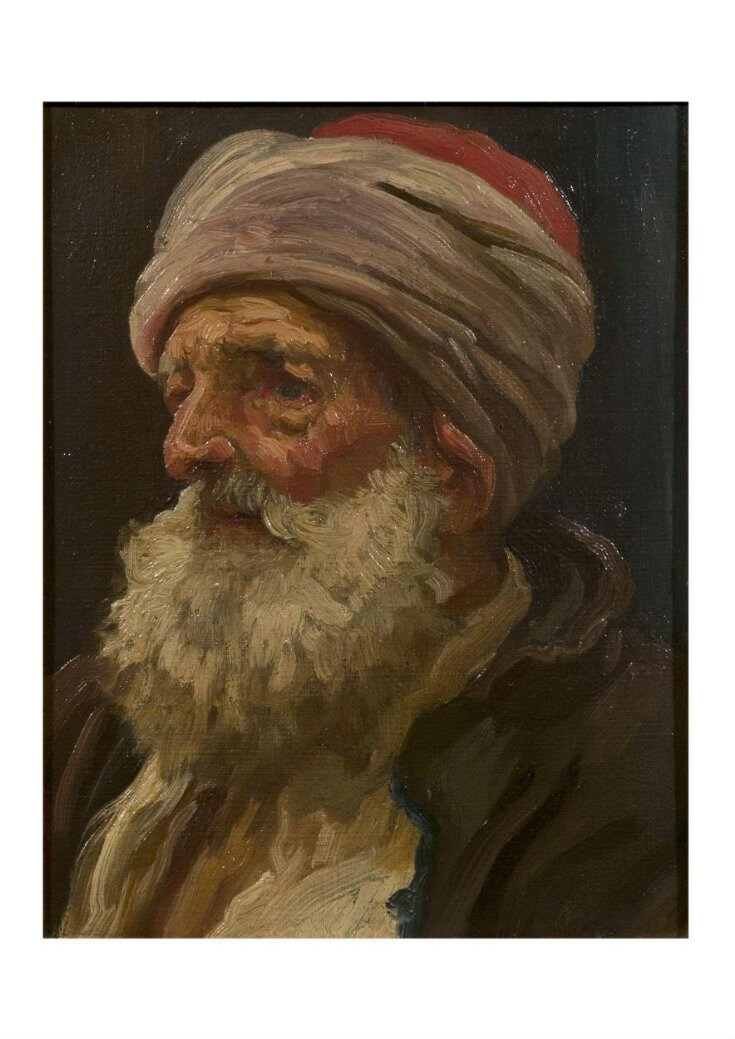 Head of an elderly Arab top image
