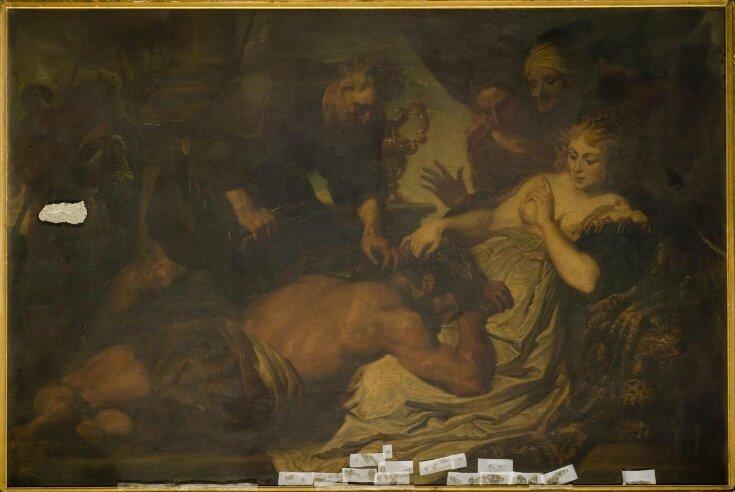 Samson and Delilah (after Van Dyck) top image