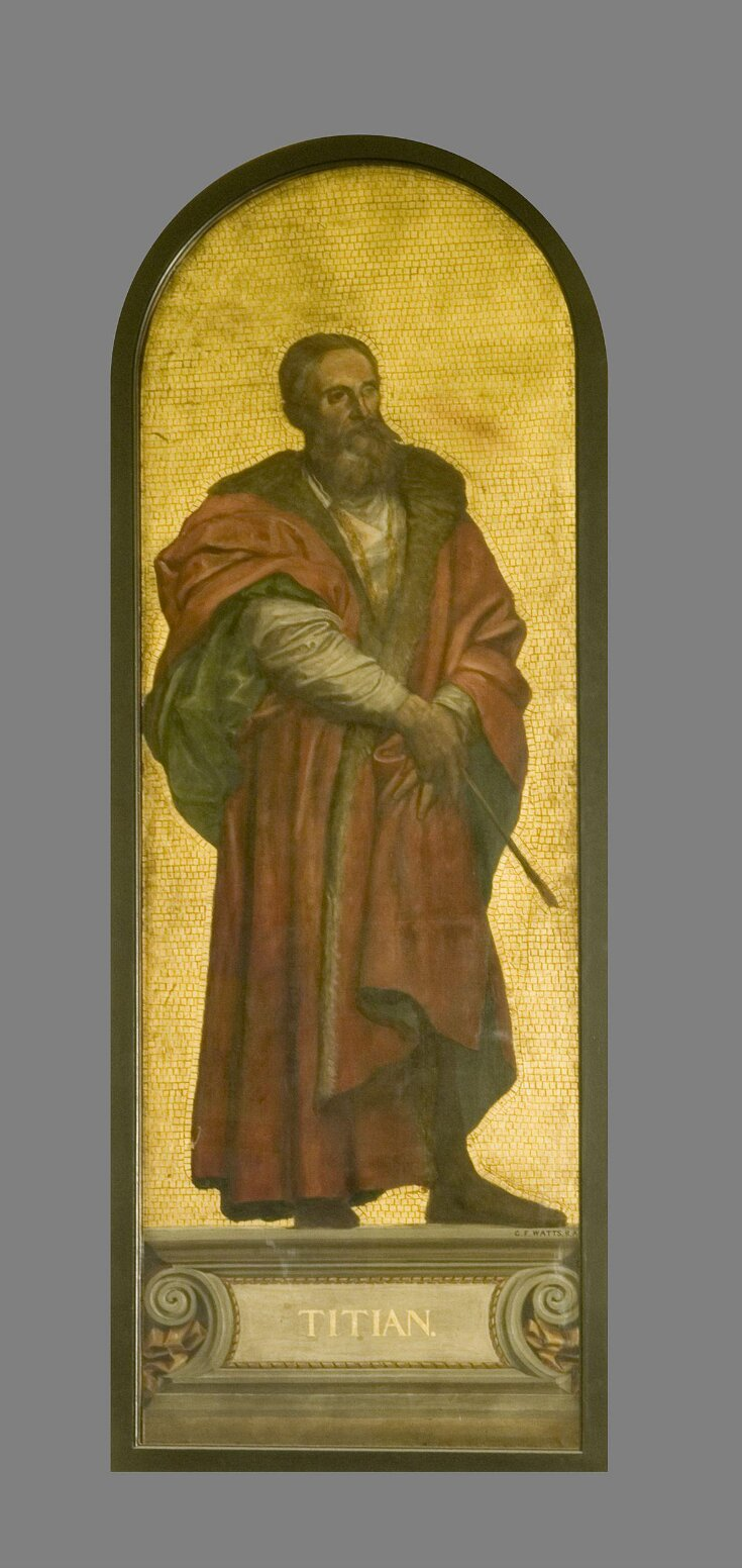 Titian: design for a mosaic in the Museum (the 'Kensington Valhalla') top image