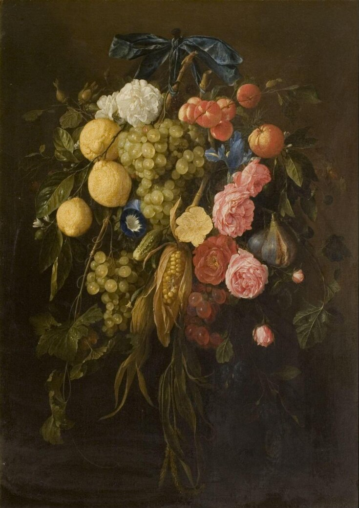 Fruit and flowers top image
