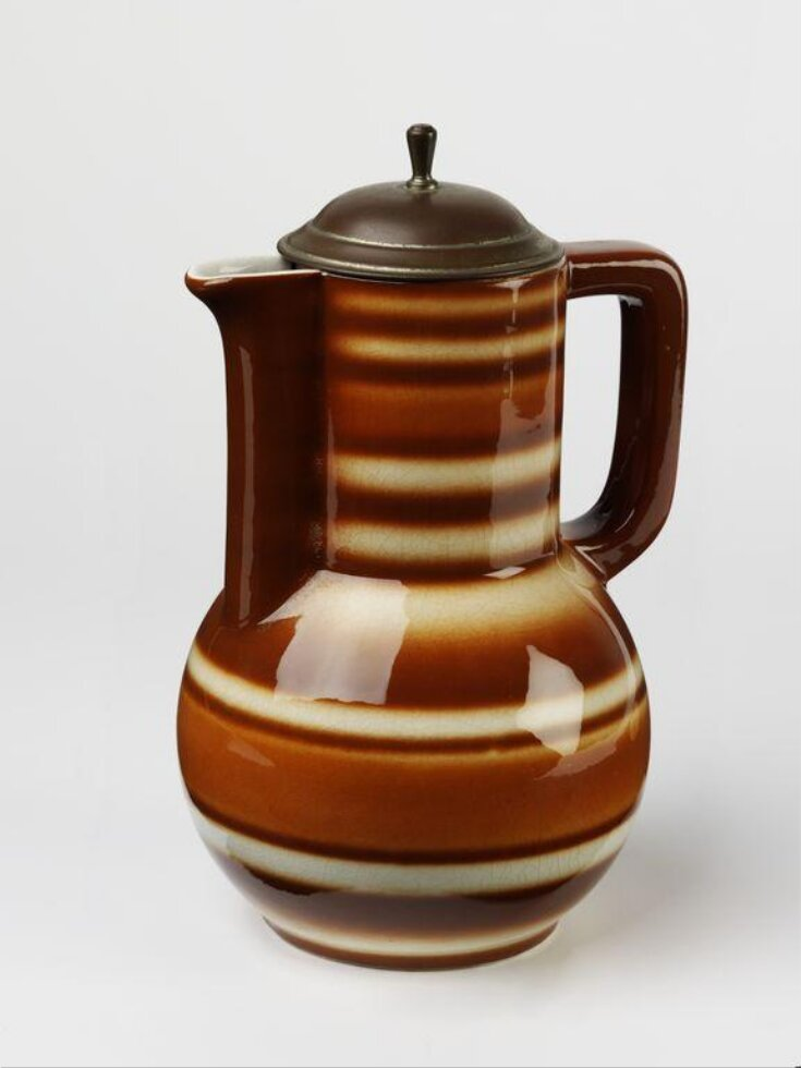 Chocolate Jug and Lid top image