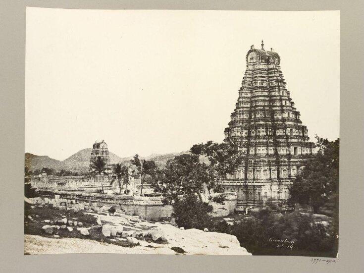 Hampi (Vijayanagar) Bellary District: Virupaksha Temple Complex. top image