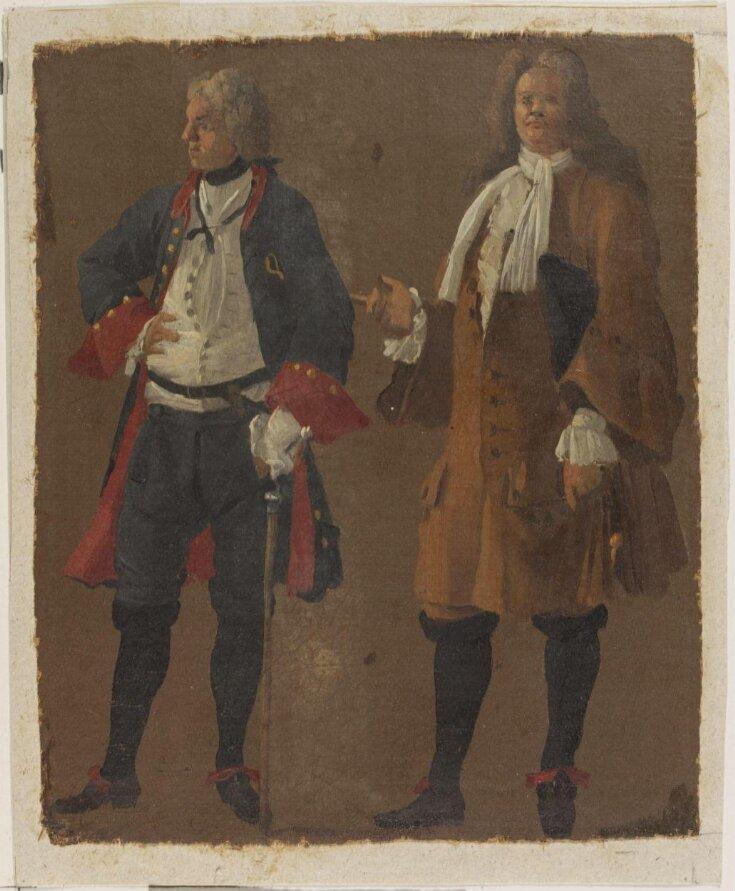 Studies of Two Gentlemen top image