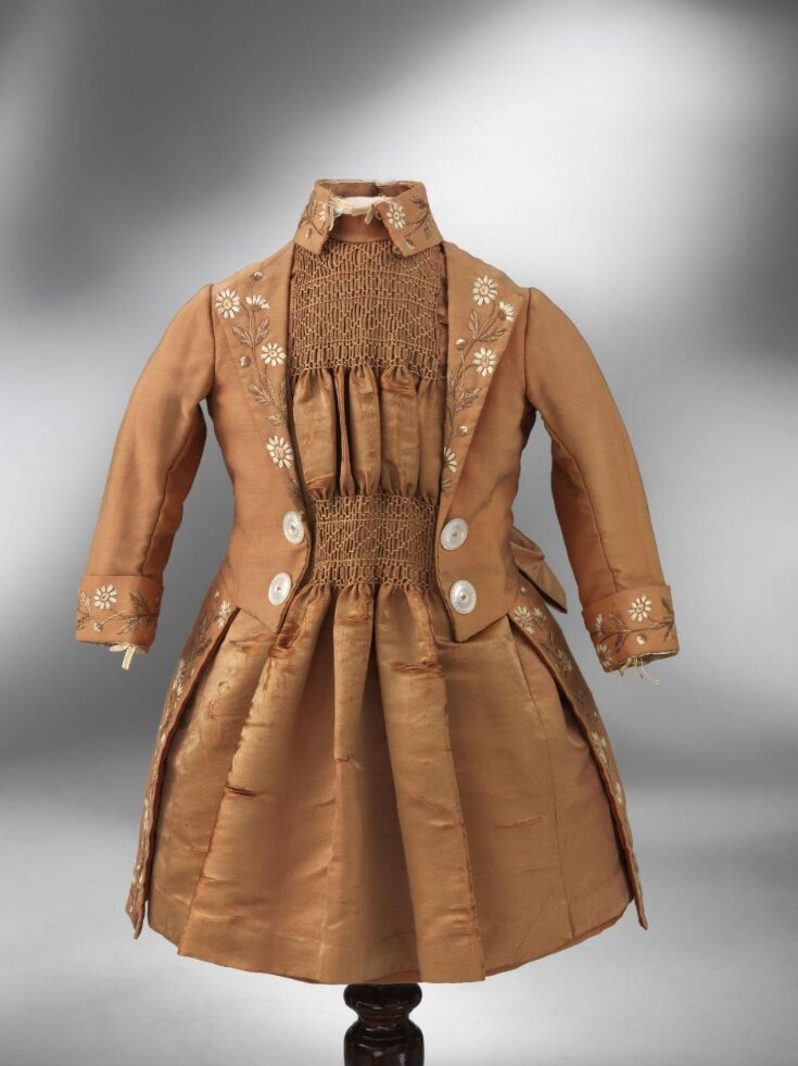 Girl's Dress and Jacket top image