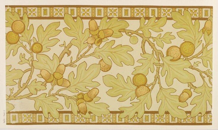 Wallpaper frieze top image