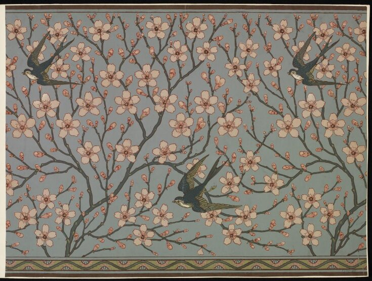 Almond Blossom and Swallow top image