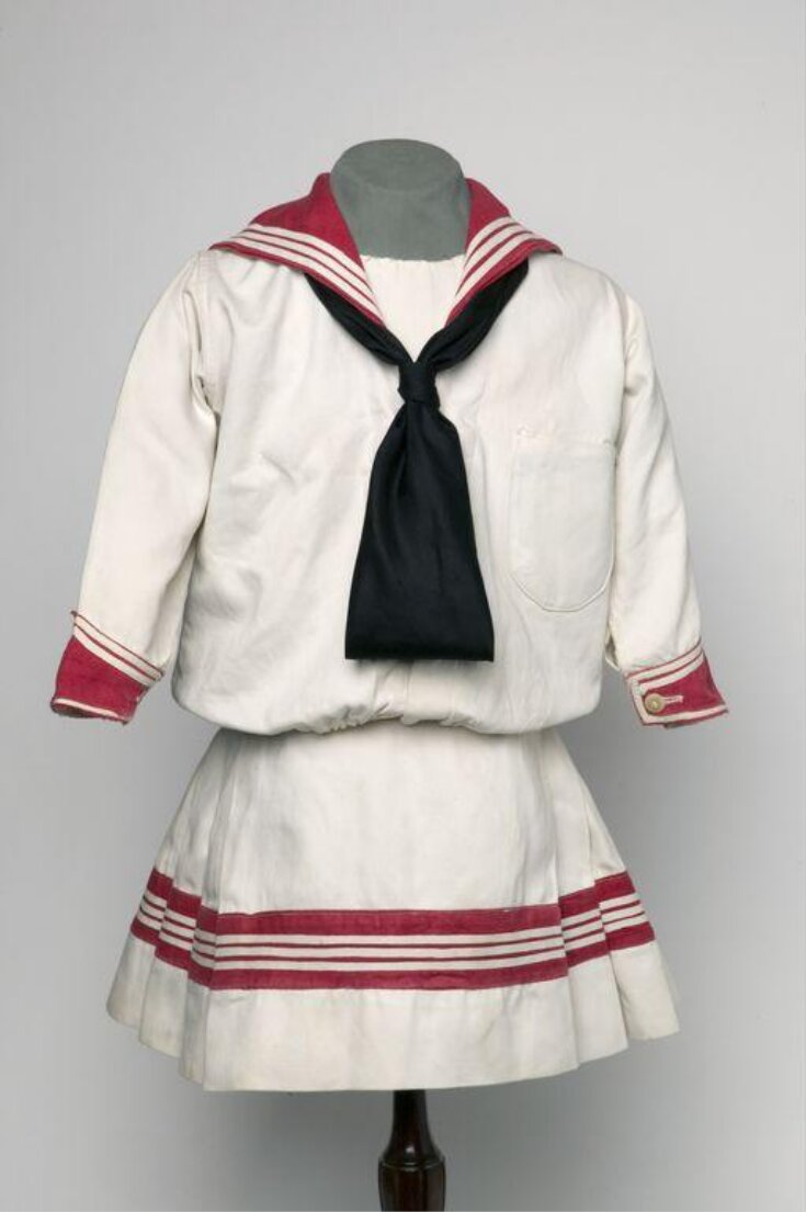 Girl's Sailor Suit top image