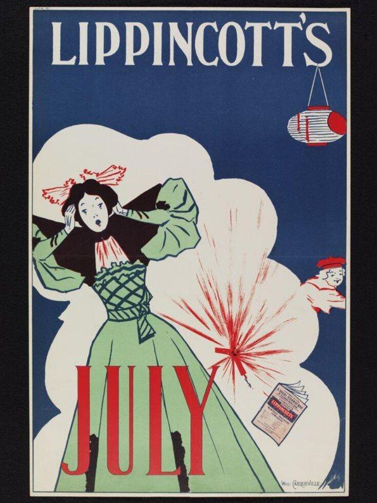 Lippincott's [July 1895] top image