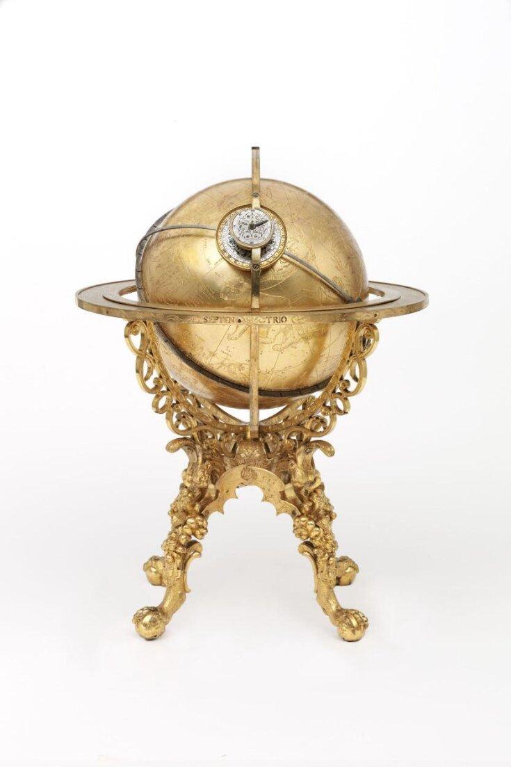 Mechanical Globe Clock top image