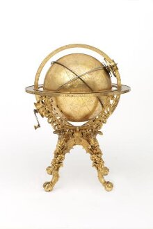 Mechanical Globe Clock thumbnail 1