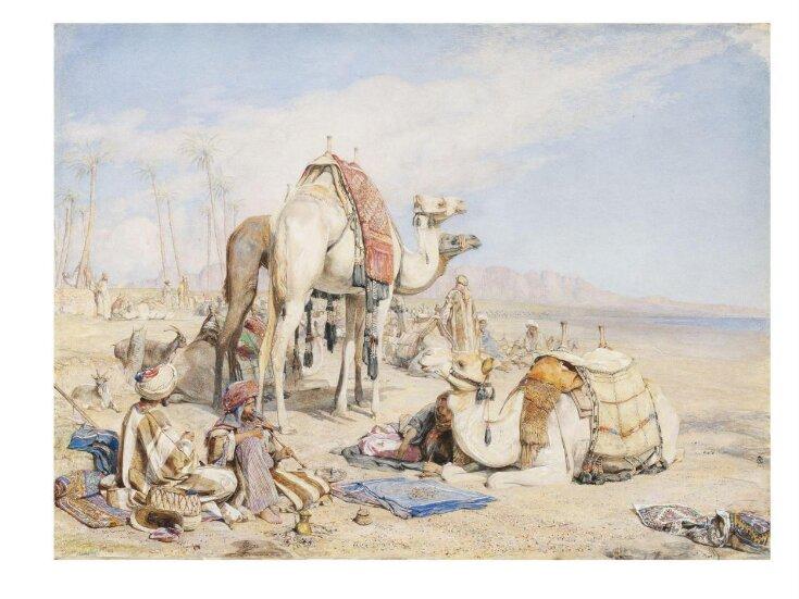 A Halt in the Desert top image