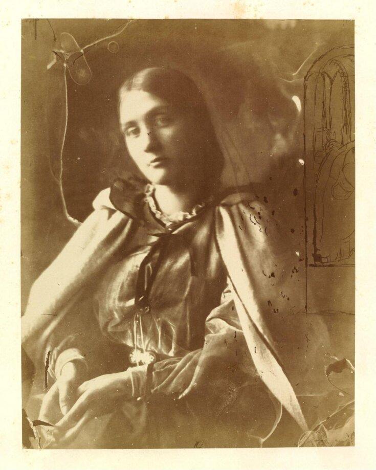Julia Jackson 1864 JULIA MARGARET CAMERON Vintage Photography Poster