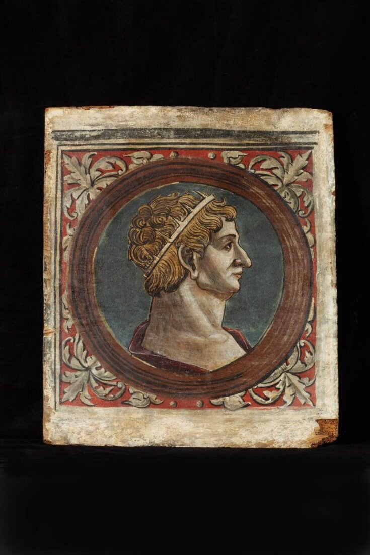 Profile bust of a Roman emperor facing right top image