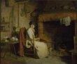 A Cottage Interior: An Old Woman Preparing Tea thumbnail 2