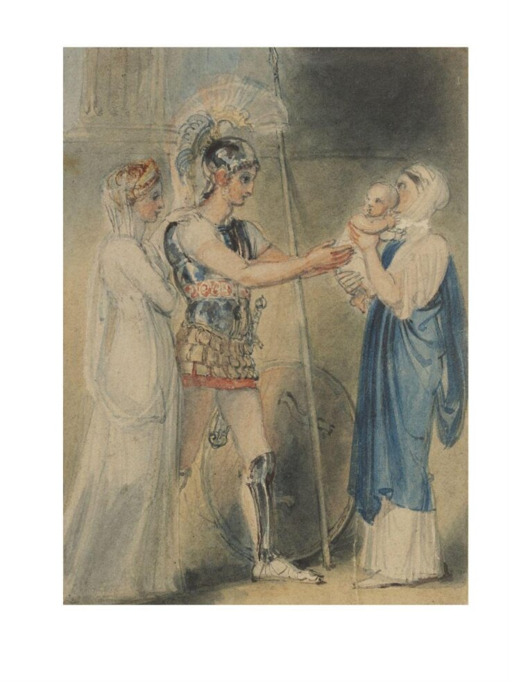 Hector Bidding Farewell to Andromache top image