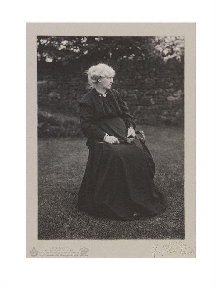 Portrait of Jane Morris top image